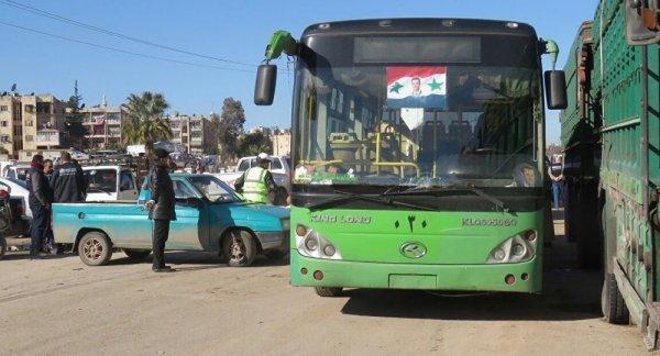 В Сирии обстреляли автобус с российскими журналистами