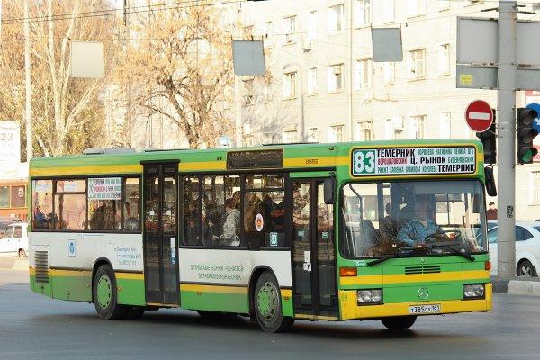 Злые пассажиры грызут автобусы в Ростове