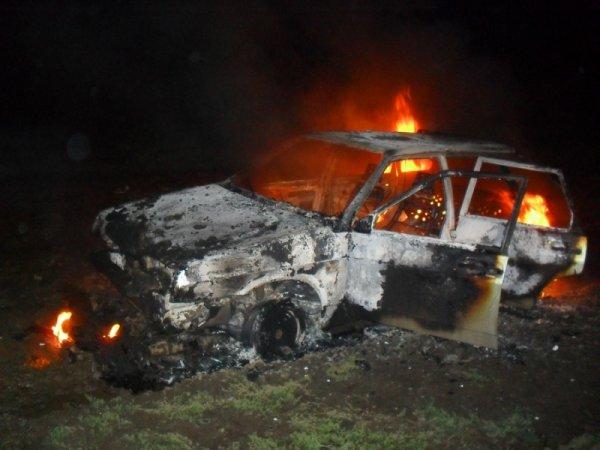 Четыре человека сгорели в перевернувшемся автомобиле на территории ТиНАО