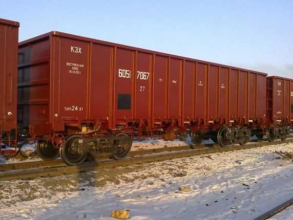 В Волгоградской области 5 вагонов с цементом сошли с рельсов