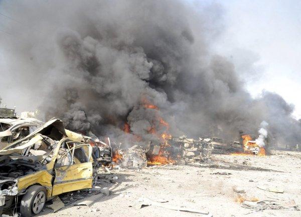 Стало известно о 20 погибших от взрыва на юге Алеппо в Сирии