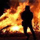 В Щербинке вспыхнул пожар в магазине фейерверков