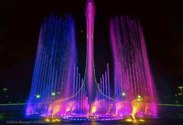 В Сочи женщина устроила публичный секс с фонтаном