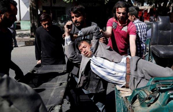 Во время взрыва в центре Кабула погибли 31 человек и более 50 получили ранения