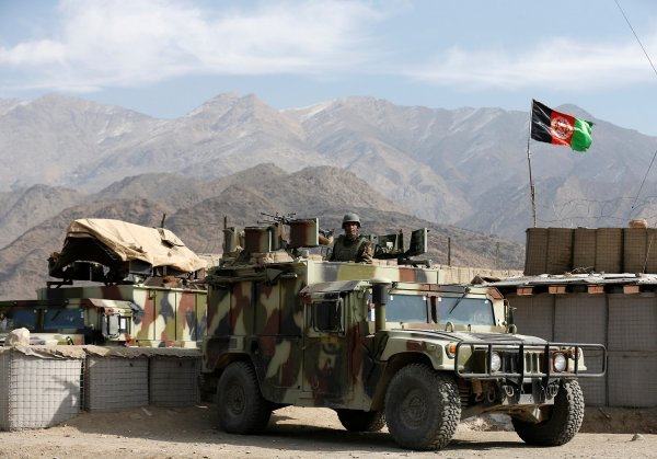 В Афганистане иностранные военные задавили девочку и скрылись
