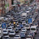 Рабочая неделя в Петербурге началась с огромных пробок