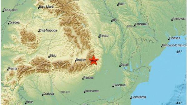 В Румынии произошло землетрясение в печально известной зоне Вранча
