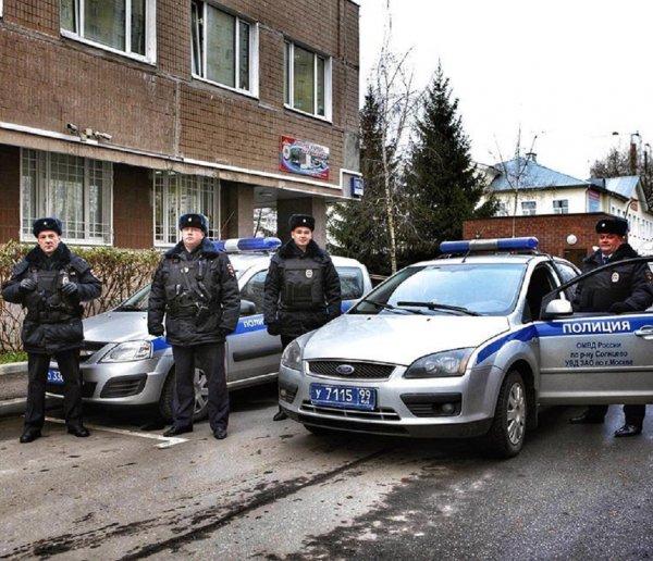 В Москве два участника свадебного кортежа из-за стрельбы попали в полицию