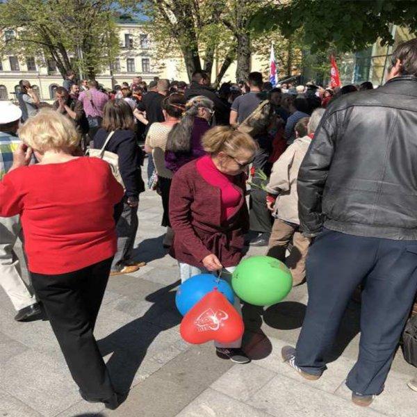 В Харькове неонацисты атаковали сторонников ХНР во время первомайского шествия