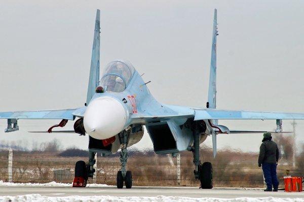 В Сирии потерпел крушение российский истребитель, оба пилота погибли