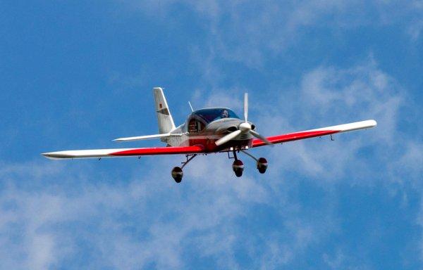 Спортивный самолет упал в реку Ока под Дзержинском