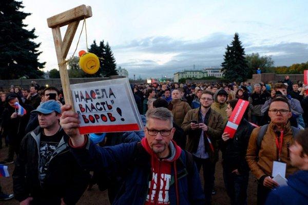 Соратника Навального обвинили в насилии над стражем правопорядка