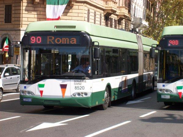Автобус взорвался в самом центре Рима