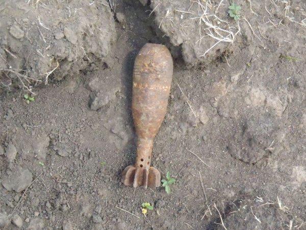 Во время полевых работ в Жуковском районе были найдены снаряды времен ВОВ