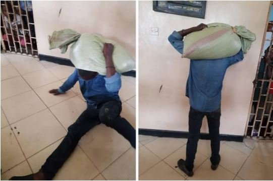 В Танзании вор украл мешок зерна и не смог его снять из-за проклятия
