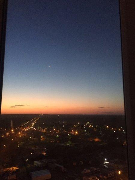 Над Воронежем ночью пролетел странный НЛО
