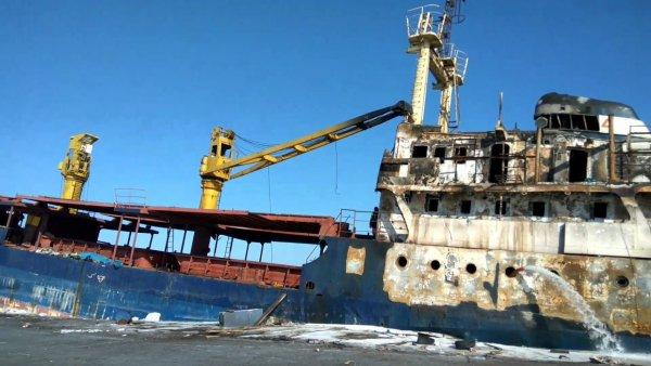 Приморский «корабль-призрак» до сих пор на плаву