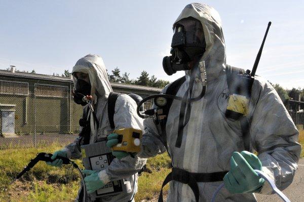При утечке хлора в Южной Корее пострадали 19 человек