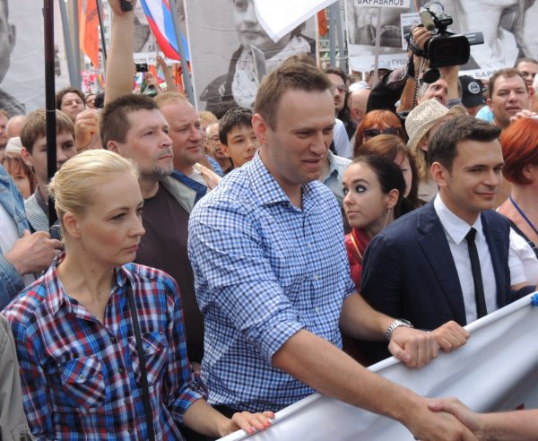 За акцию протеста в Москве задержали ведущую YouTube-канала Навального