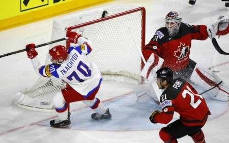 Сборная России проиграла канадцам в четвертьфинале и вылетела с ЧМ-2018 в Дании. ВИДЕО