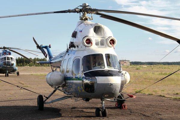 На Ставрополье обломки упавшего вертолета Ми-2 попытались закопать