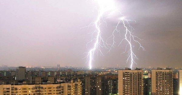 В Ульяновске молния попала в трамвай
