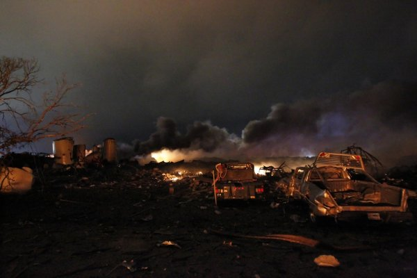 СМИ сообщили о масштабном взрыве в Техасе