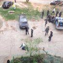 В Ижевске полицейский застрелил напавшего с ножом велосипедиста