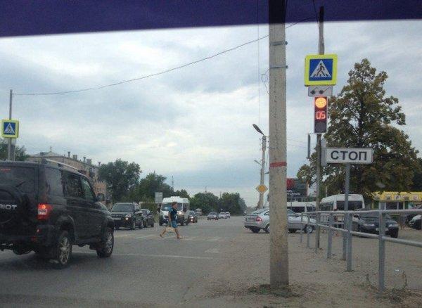В Сызрани из-за грозы перестали работать светофоры