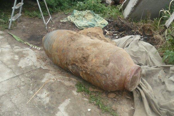 В Крыму нашли фугасную авиационную бомбу весом в 500 кг