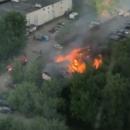 В Ярославле бомжи жарили сосиски и спалили 450 квадратных метров здания