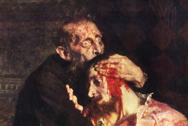 Посетитель разбил в Третьяковке картину «Иван Грозный убивает сына» из-за водки