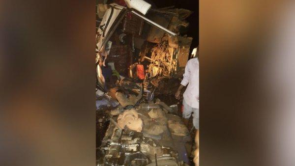 В результате ДТП в Уганде с участием трактора, грузовика с пивом и автобуса погибли 48 человек