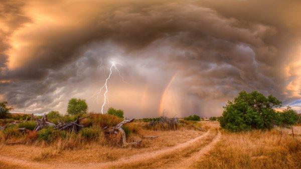 Пастух в Казахстане смог выжить после удара молнии