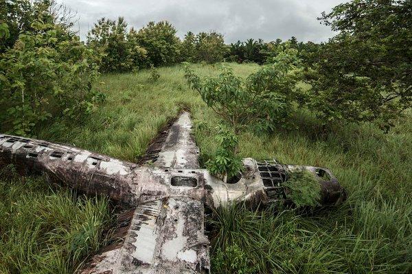 В Приморье нашли фрагменты истребителя, рухнувшего в 1945 году