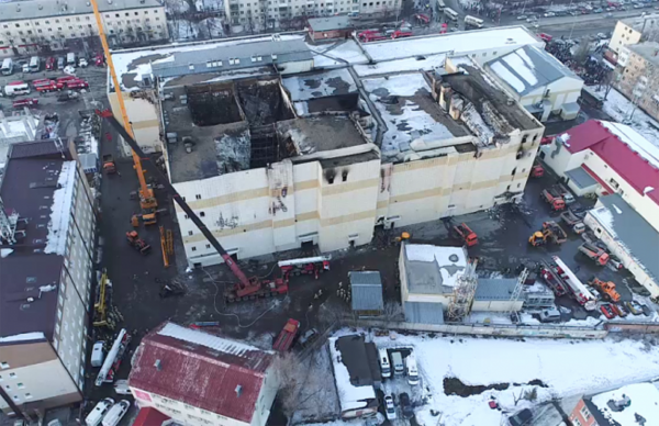 СМИ: глава МЧС РФ Пучков запретил проверять ТЦ «Зимняя вишня» в Кемерово