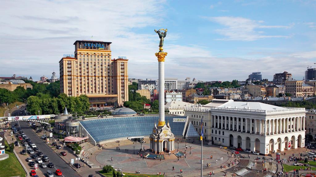 Где найти карту Киева?