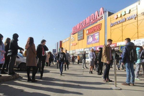 В Иркутске при пожаре в ТЦ пострадали восемь детей