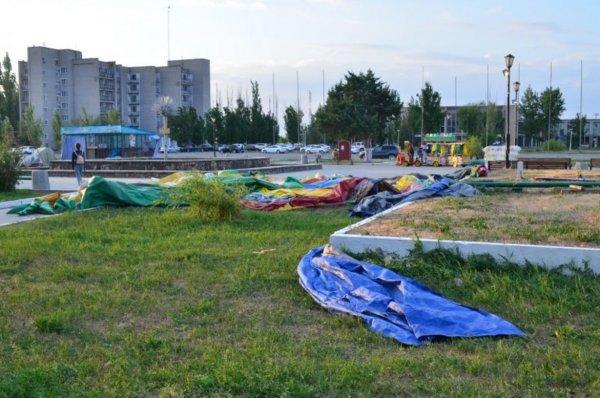 В Астраханской области двое детей пострадали из-за унесенного ветром батута