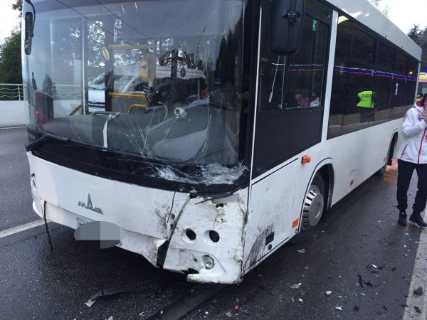 В Ростове автобус из серии ЧМ-2018 попал в ДТП с маршруткой