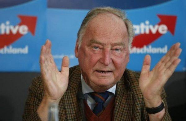 У лидера правой немецкой партии воры украли верхнюю одежду