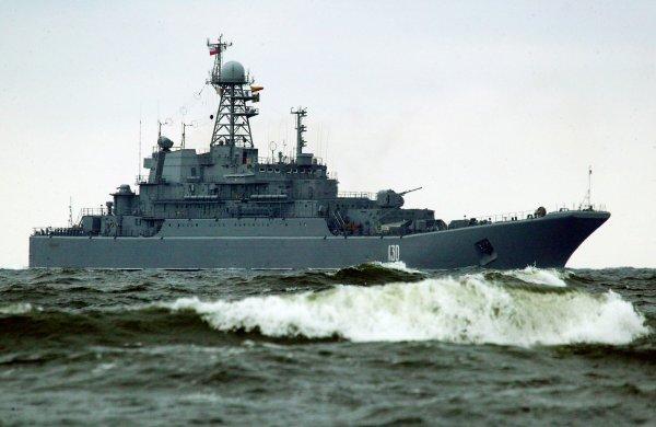 Корабль ВМФ России перехватила в Чёрном море украинская авиация