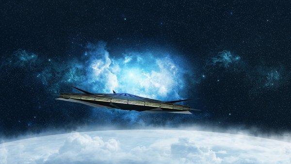 В небе над Краснодаром сняли на камеру НЛО странной формы