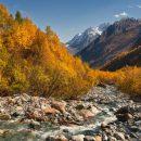 Десятки туристов застряли в горах Карачаево-Черкесии