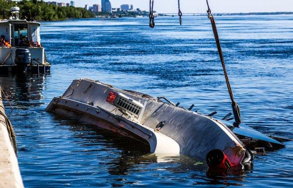 Капитан катамарана в Волгограде находился в пьяном состоянии