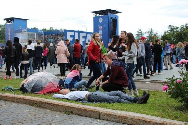 Первокурсника МГУ оштрафовали на 1500 рублей за борьбу с фан-зоной