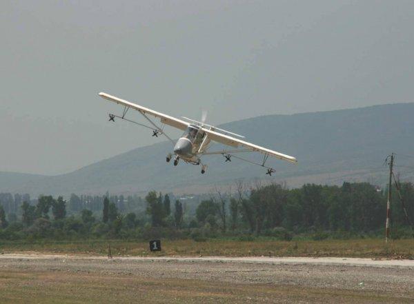 В Воронежской области потерпел крушение самолет
