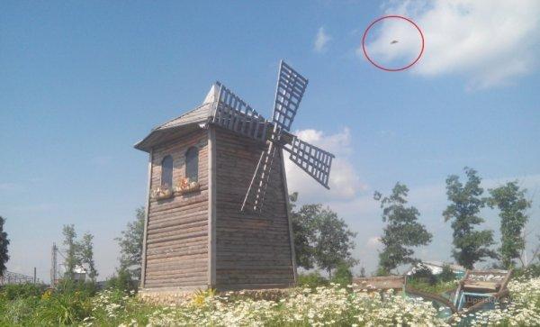 В Липецкой области запечатлели НЛО