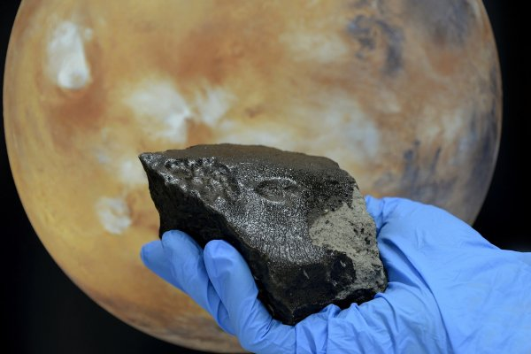 В Липецкой области обнаружили обломки метеорита