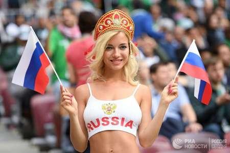 Самые красивые болельщицы Чемпионата мира по футболу 2018